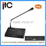 Remote 5 Zone Table Stand Paging Microphone for Paging System