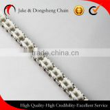 haigh quality stainless outer plate and nylon/POM inner link with sus304 pin chain conveyor chain food conveyor chain
