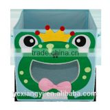 Collapsible Happy Frog Kids' Toy Box, Cheap Smiling Monkey Lego 10179 Storage Box Organizer