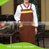 Custom cooking high quality plastic apron pvc apron kitchen apron