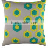 Geometric Patterns Cushions Modern Simple Cotton Linen Pillow Home Decoration Wholesale Square Cushion Covers