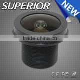 2015 New Arrival IP68 Waterproof wide angle 1/2 inch cctv 1.38mm m12 board automotive lens for car rearview
