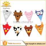 cheap paper banner cute animals string pennant party supplies kids theme