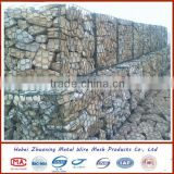 Galvanized stone gabion box/gabion containment prices