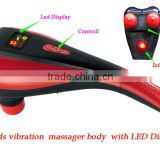 5 Speeds Vibration Simming Loss Weight with Infrared Light Device Handheld Back Waist Handy Massager Hammer