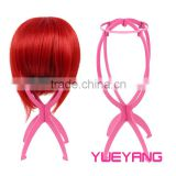 Plastic Wig Stand Display Accessory for Hair Wigs
