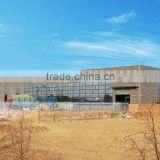 Export to Singaporelong span prefabricated steel structure warehouse/workshop/shed