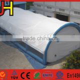 Air sealed 20m long inflatable tent, inflatable paintball sport arena, mega arena inflatable