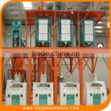 5-200t/24h Automatic Flour Mill Machinery,Wheat/corn/maize/rice/grain Processing Equipments,Mill Flour