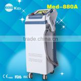 Handle Design Nd Yag Laser Tattoo Removal System Hair Removal Machine Varicose Veins Treatment