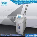 755nm - lase 755nm alexandrite laser price hair removal treatment cost china factory 755 nm poplaser candela pro