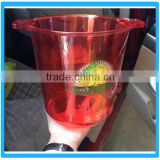 Hot Sale Plastic Advertising Ice Bucket Customize Ice Pail Beer Champagne Bucket