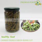 canned food french green bean cut in jar