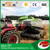 tractor mounted rice wheat grass straw square baling machiner for sale