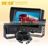 "7"" horse trailer camera system with surround view camera system"