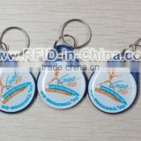 High Performance RFID Key Fobs 125KHz/13.56MHz Short Range RFID Tags for Access Control System