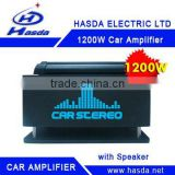 1200W 4 Channel Bridgeable Car Amplifier With Subwoofer