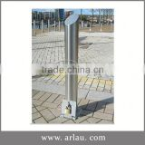 Arlau Removable Parking Control Bollards,Street Bollards Good Price,Powder Coated Steel Post