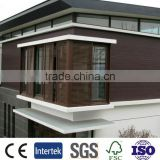 Wood composite panel exterior, wpc wall panel with Easy installation,wpc deck cladding popular in Europe,wpc panel