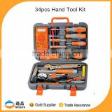 China Professional Supplier 34pcs Electrician Tool Sets