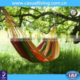 Double 2 Person Cotton Fabric Canvas Travel Hammocks 450lbs Ultralight Camping Hammock Portable Beach Swing Bed