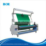 Textile automatic edge aligned fabric inspection machine,Woven and knitting Fabric cloth Inspection rolling machine