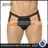 Bottom Price Hot Selling Mens Jockstrap Underwear Bulk Price Male Brief Sexy Cotton Mens Boxer