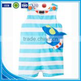 Applique summer wear sleeveless custom infant organic cotton newborn cheap wholesale funny pretty baby clothes