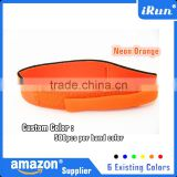 Neon Orange Waterproof Timing Chip Band - Time Strap Chip Sport Triathlon Running Accessories - 6 Existing Colors