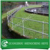 steel ball joint handrail ,hot dip galvanize Stanchion