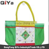 Wholesale Costom Large Capacity Outdoor Foldable Polyester PVC Colouful Printed Embroidery Sea Shell Beach Tote Bags