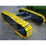 3 ton Single grouser steel crawler undercarriage