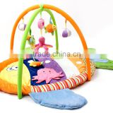 Wholesale non-toxic fish style musical gym children kids play mat M5082202