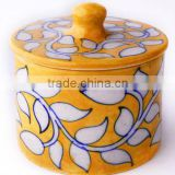 Designer Blue Pottery Containers