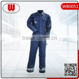 High quality cargo pockets abrasion resistance cotton coverall