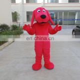 Latest popular cartoon anmal costume red dog costume for adult