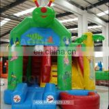 Different design combo game garden playing equipment inflatable slide bouncer