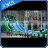 Summer slip n slide inflatable slide the city / crazy games inflatable water slide / inflatable fun city