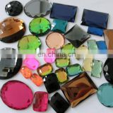 cheap sticker glass beads for shoes