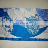 gift order fashion new design printed chinese traditional pure silk scarf