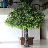 4.5m artificial banyan tree ficus tree hotel decoration good price and quality