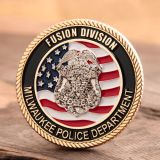 Milwaukee Police Challenge Coins