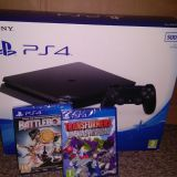 Sony PlayStation 4 PS4 Slim 500GB Jet Black Console