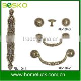 ancient zamac cabinet handle furntiure handle for palace