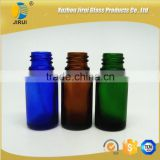 10ml essential oil glass bottle blue cobalt color, clear color, green color, amber color