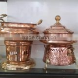 CHAFING DISH FROM INDIA SOLID COPPER CHAFING DISH HOTELWARE