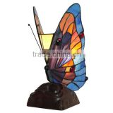 butterfly lamp tiffany lamp table lamp LED night light stained glass lamp