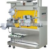 HFT- 3 colors fabric or garment label flexo printing machine with high precision and high speed