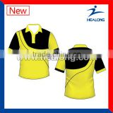2013 Sublimation Custom Polo Cricket Unifrom for Team