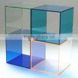 combined Acrylic Display Cube hollow display rack book shelf coffee table